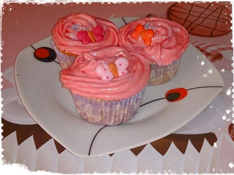 Cupcakes de Bayles y Leche Condensada