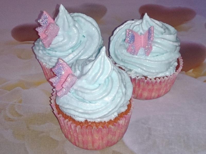 Cupcakes de algodon