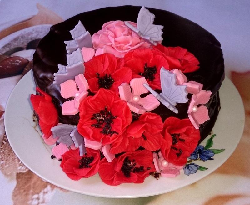 Tarta Bombon de Cerezas