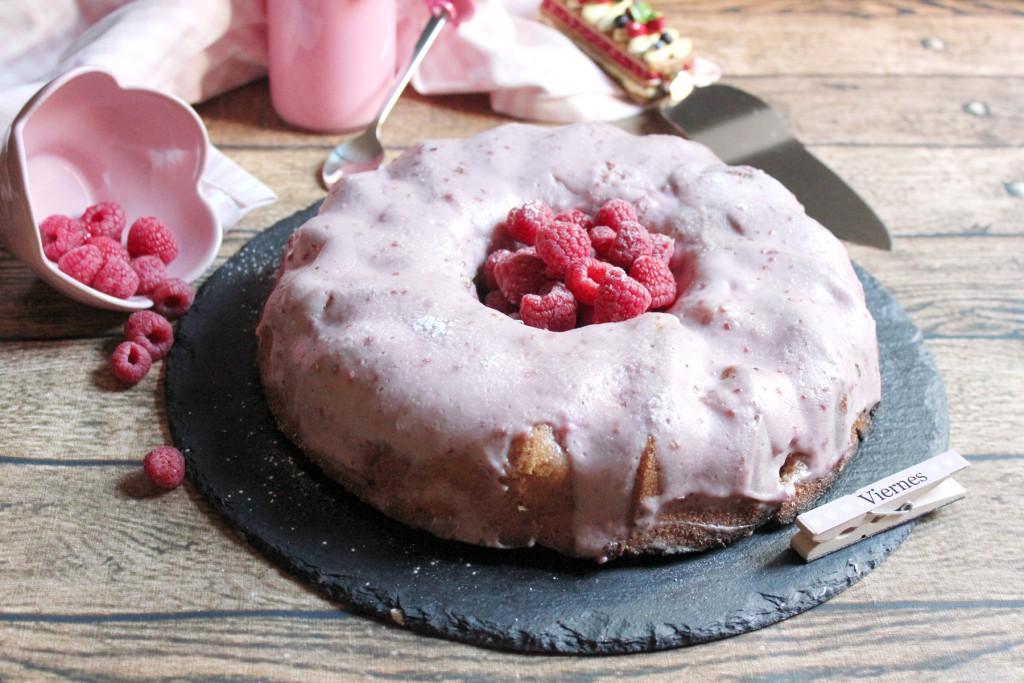 Bundt Cake de Frambuesa