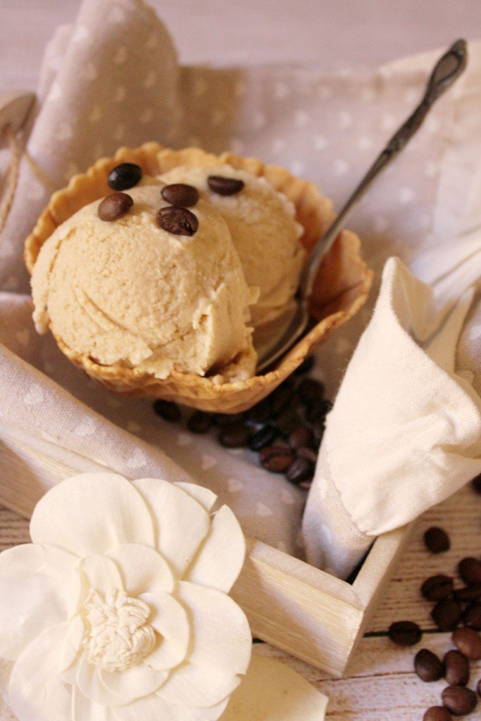 helado de café con baileys