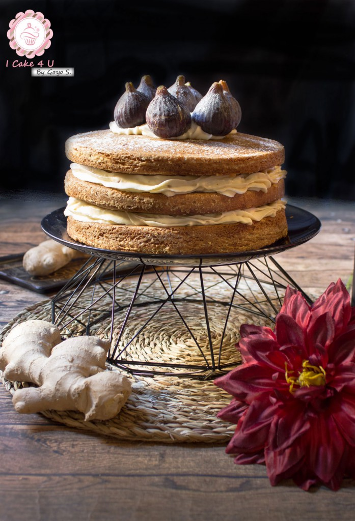 Naked cake Jengibre
