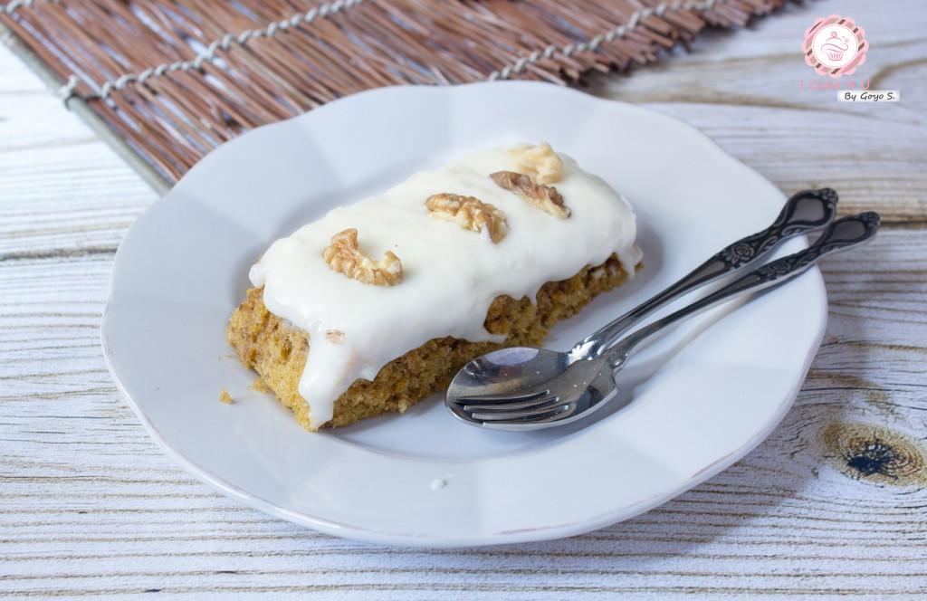 CARROT CAKE AL MICROONDAS