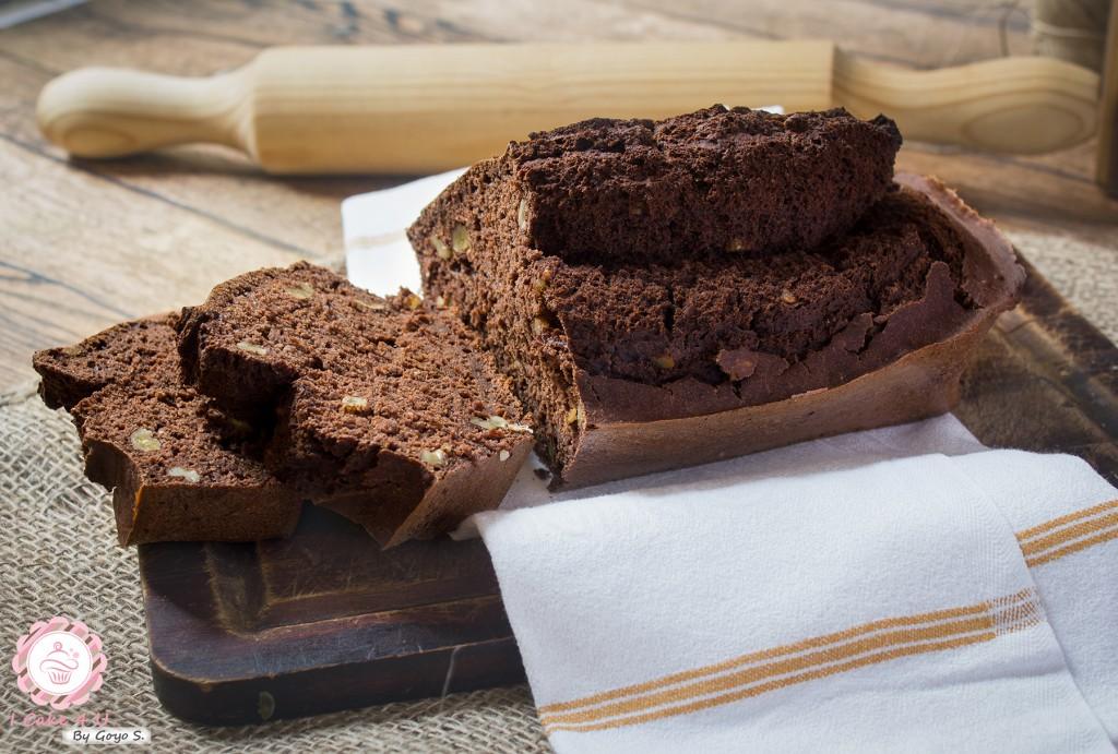 Plum cake Chocolate y Nueces