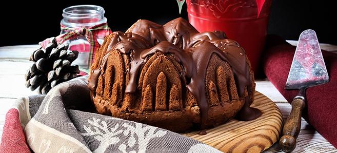 Bundt Cake Turrón de Suchard