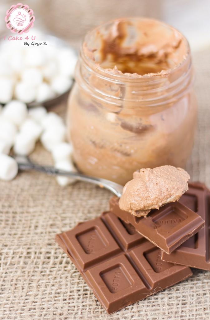 Mousse de Chocolate al Caramelo y Marshmallow