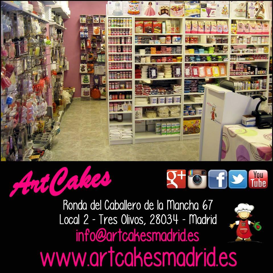 Portada ArtCakes Madrid