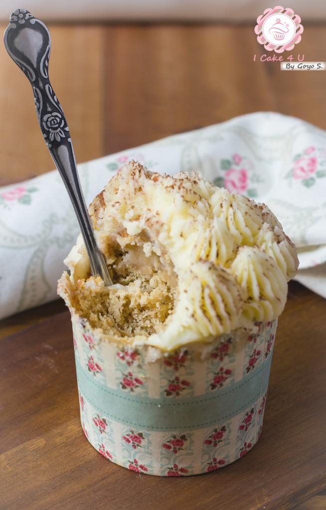 Cupcakes de Tiramisú Sin Gluten