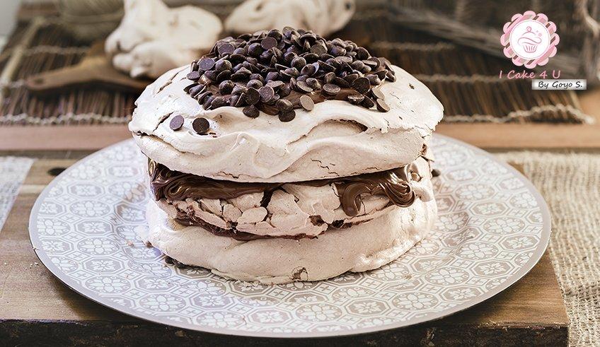Pavlova de Nutella