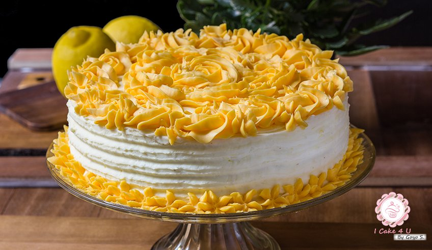 Tarta de Limón Clásica