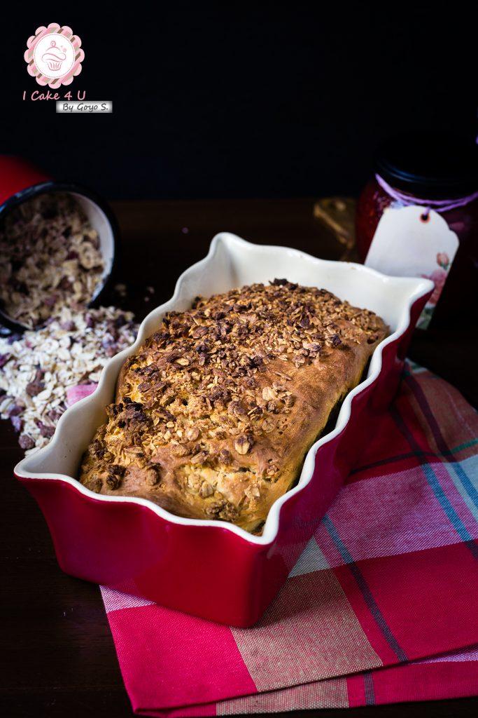 Pan de Muesli Crujiente de Miel y Frutos Secos