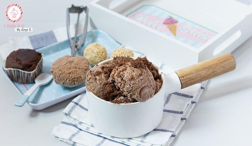 Helado De Chufa Chocolateada