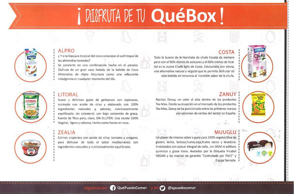 Informacion Que Box Junio 16