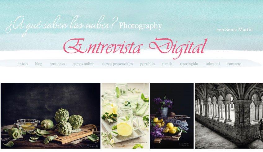 Entrista Digital A Qué Saben las Nubes Photography