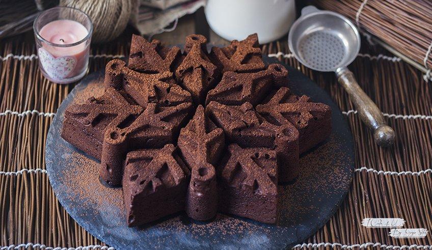 Brownie de Chocolate con Cacahuetes de Miel