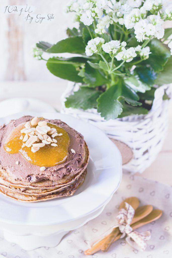Pastel de Tortitas de Horchata con Chocolate