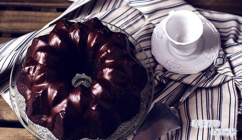 Bundt Cake de Chocolate con Baileys
