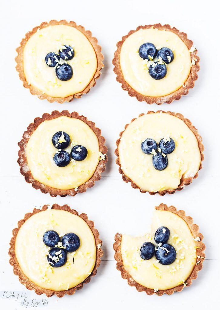 Tartaletas de Crema de Limón Suave