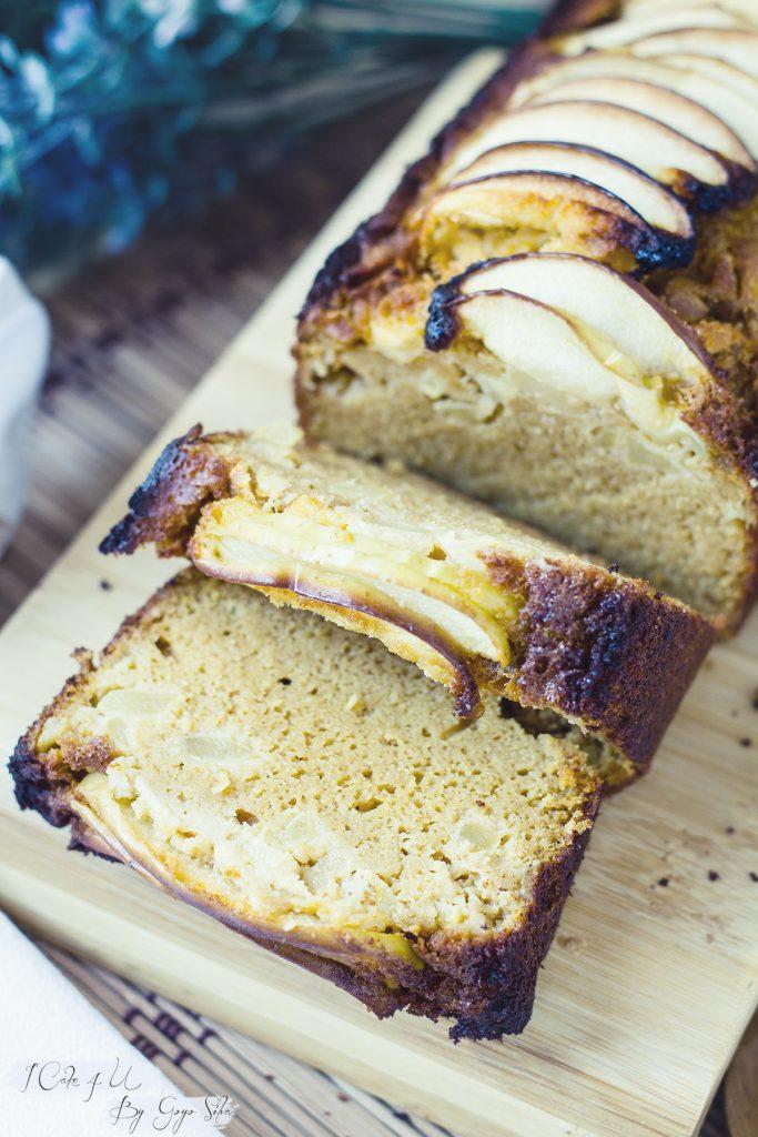 Plum Cake de Harina de Arroz y Manzana