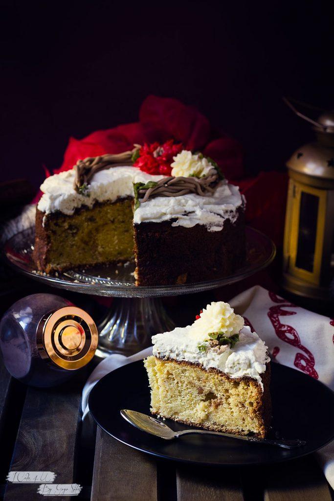 Pastel de Mascarpone y Naranja