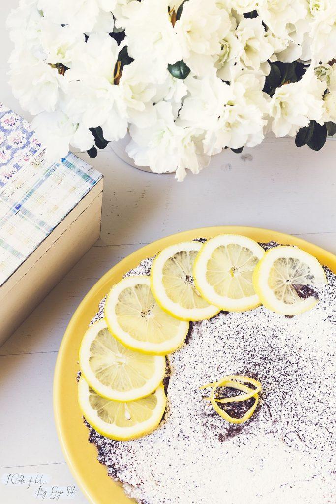 Pastel Cremoso de Limón