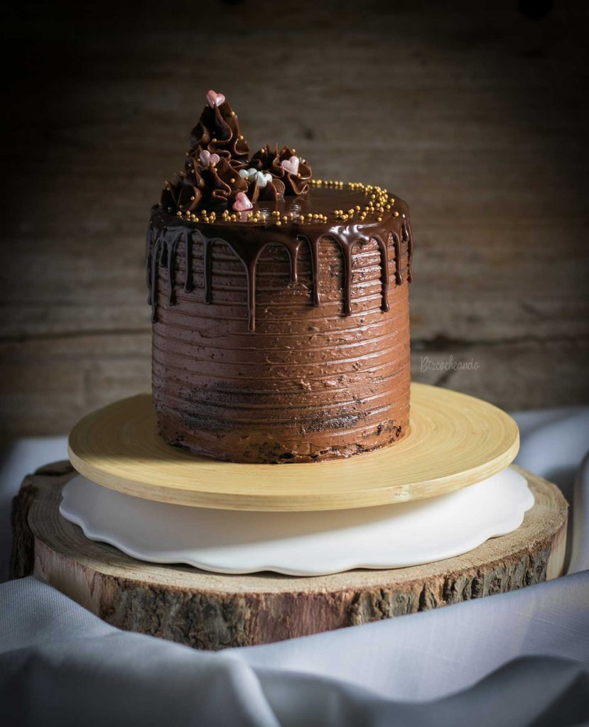 Layer Cake de Chocolate y Queso