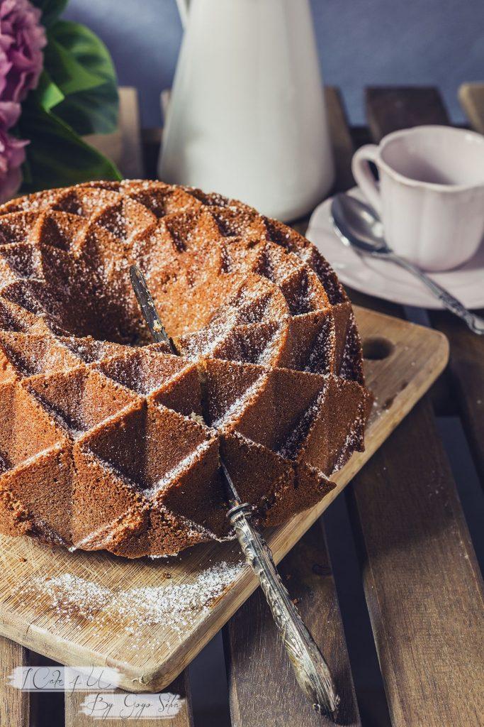 Bundt Cake de Jengibre, Nata y Canela