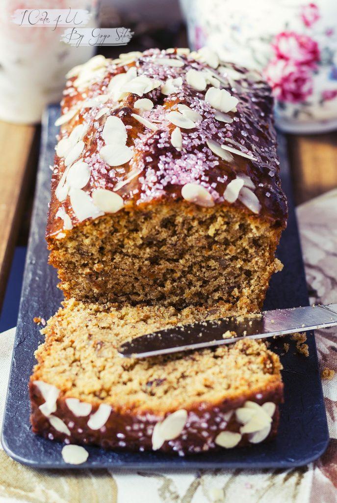 Pound Cake de Zanahoria y Cardamomo