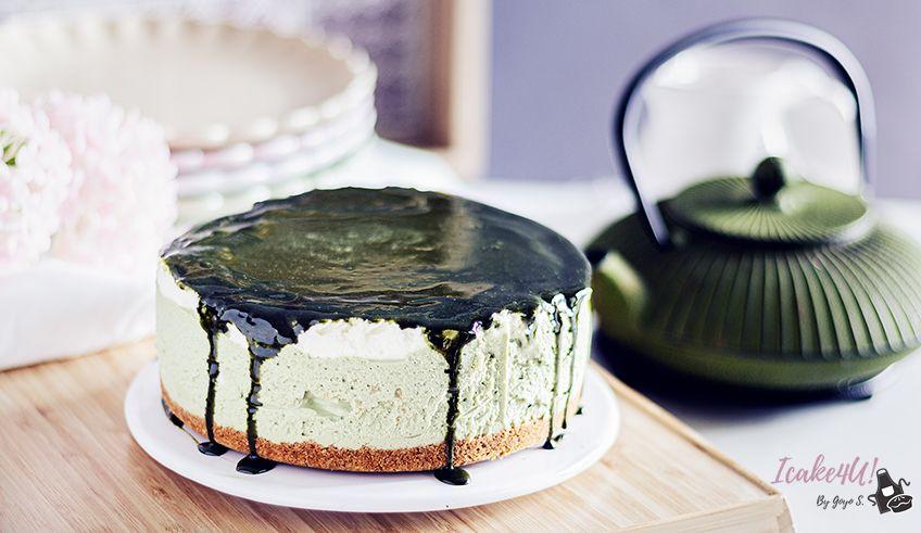 Cheesecake de Té Matcha