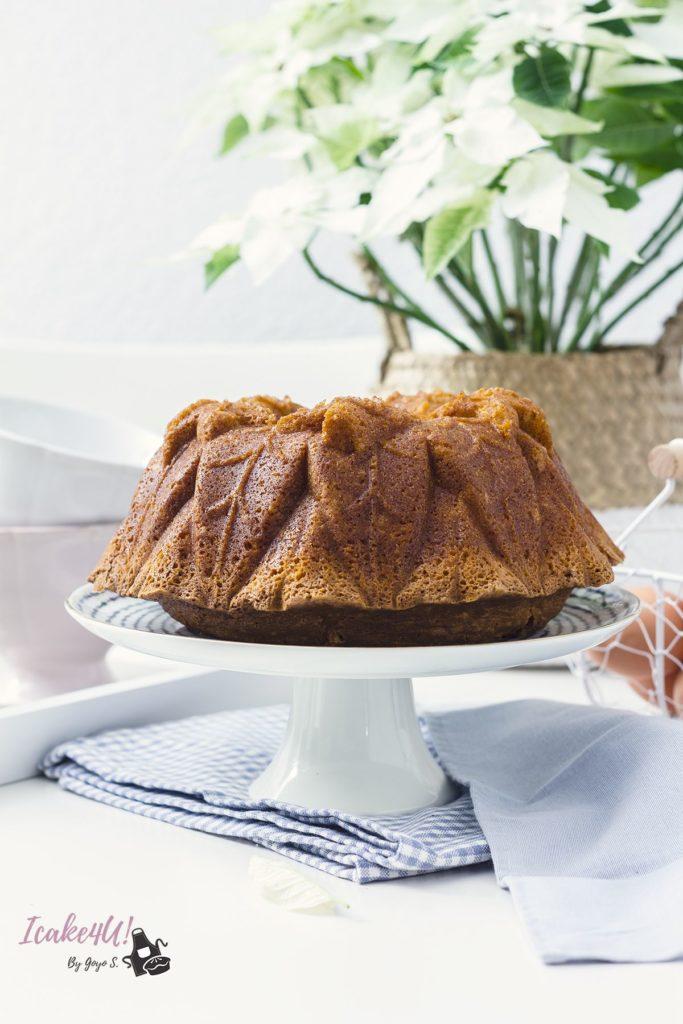 Bundt Cake de Agua de Azahar y Naranja