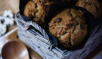 Muffins de Pasas y nueces